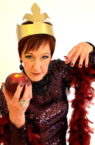 Jill Priest as the Wicked Queen