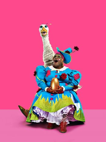 Clive Rowe (Mother Goose)