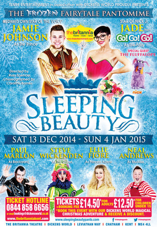 Sleeping Beauty - The Frozen Fairytale Pantomime