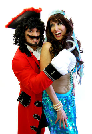 Captian Hook & Mermaid (James Franklin& Joanna Fussey)