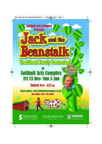 Jack and the Beanstalk poster
